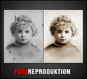 Wir bieten Foto-Reproduktion und Foto-Restauration an. Alte Fotos werden wie neu
