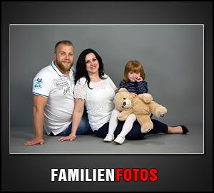 Wir erstellen Familienfotos mit und ohne Kinder bei uns im Fotostudio