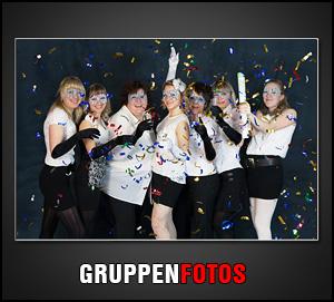 Wir erstellen auch Gruppenfotos im Studio in Göttingen