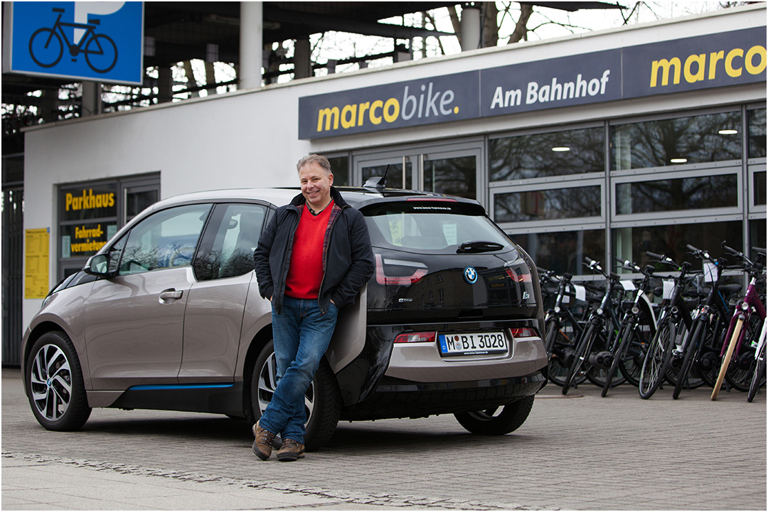 Fotoaufnahmen für BMW Niederlassung Göttingen