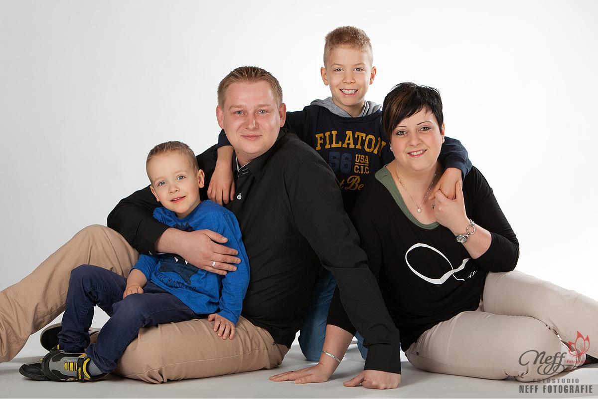 Familienfotos erstellen