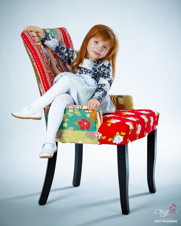 Fotos von Kindern im Fotostudio