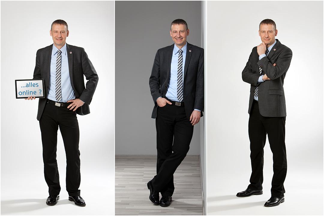 Personalfotos bei Pahl & Partner in Göttingen